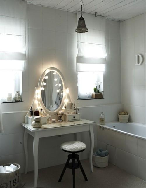 Ikea Schminktisch Mit Licht ~ Spieglein, Spieglein an der Wand – die schönsten Schminktische