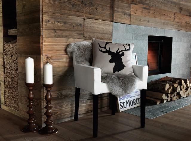 wandgestaltung braun ideen ~ kreative deko-ideen und innenarchitektur - Einrichtung Winterlich