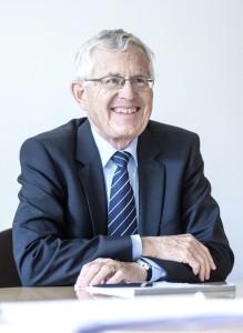 Kaspar Villiger, alt Bundesrat und ehemaliger UBS-Präsident. Foto: Adrian Moser.