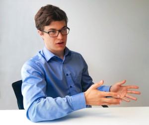 Jonas Vollmer, Geschäftsleiter GBS Schweiz.