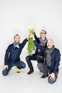 Die drei Tibits-Gründer Reto Frei, Daniel Frei und Christian Frei (v.l.n.r.). Foto: Amanda Nikolic.