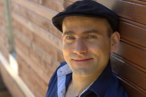 Pascal Häring, Zirkusartist mit Spezialität Roue Cyr. Foto: Simone Häring