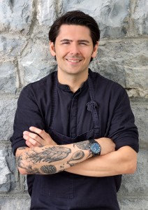 Nenad Mlinarevic, Koch des Jahres und Anhänger der Schweizer Küche.