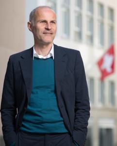 Daniel Staub, Co-Leiter der Initiative für ein bedingungsloses Grundeinkommen. Foto: Sabina Bobst
