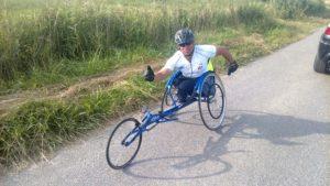 Aufs Radfahren verzichtet Rüdiger Böhm trotz dem folgenschweren Unfall nicht.