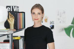 Simone Züger, Designerin und Art Direktorin mit Studio in Zürich. Foto: Christine Benz Photography