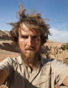 Kein Mensch nirgends: Christoph Rehage auf seinem Marsch durch die Wüste.