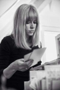Postkartenschreiberin Sabine Rieker.