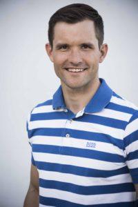 Mike Kurt, erfolgreicher Kanute, Unternehmer und Mitglied des Exekutivrats von Swiss Olympic.