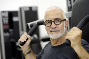 «Mental wach» dank Krafttraining: der 77-jährige Werner Kieser.