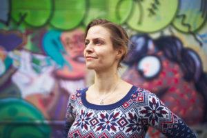 Keine Angst vor grossen Aufgaben: Sonja Dänzer brachte Dissertation, Start-up und Mutterrolle unter einen Hut. Foto: Luis Laugga