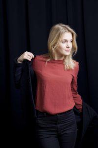 Céline Fallet: Vor sechs Jahren noch Studentin, heute Co-Geschäftsführerin von Wemakeit. Foto: Katharina Lütscher