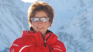 Sabine Haldemann unterrichtet als Skilehrerin bis zu 100 Kinder pro Tag.
