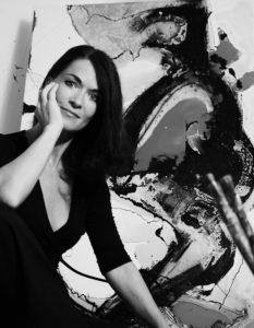 «Ich verdiene weniger als früher, aber ich bin eindeutig glücklicher»: Karin Frank, Kunstmalerin, Kursleiterin und Coach.