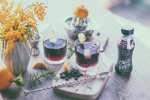 Gesund und vielseitig verwendbar: Das Kaltgetränk von Laux enthält weder Zucker noch Kalorien.