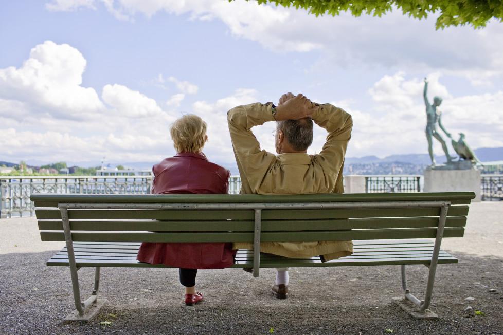 Früher in Pension: Nur wenn das gut überlegt und berechnet ist, können Sie sich ruhig zurücklehnen. Foto: Keystone