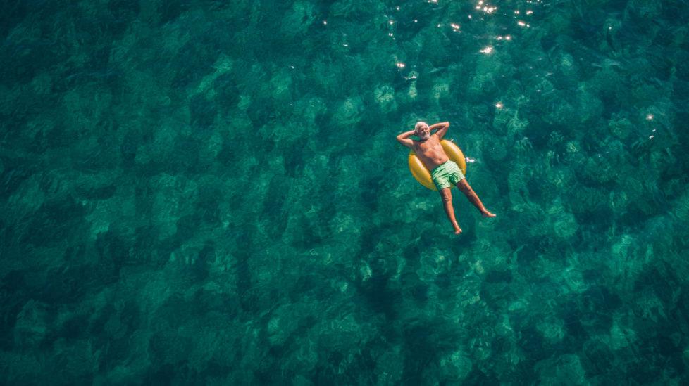 Besser entspannen bei guten Vorsorgefonds: Gebühren sollten nicht einen grossen Teil der Rendite wegfressen. Foto: Getty
