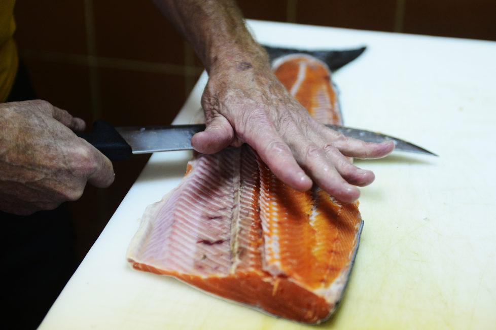 Lachsboom: Satte Gewinne mit Fischmarkt-Aktien. Foto: Getty