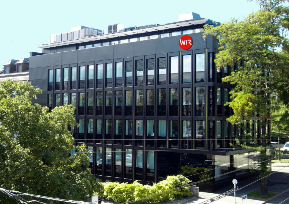 Renter sollten nich^t allein auf Anteilscheine der WIR-Bank setzen: Hauptsitz in Basel. Foto: PD