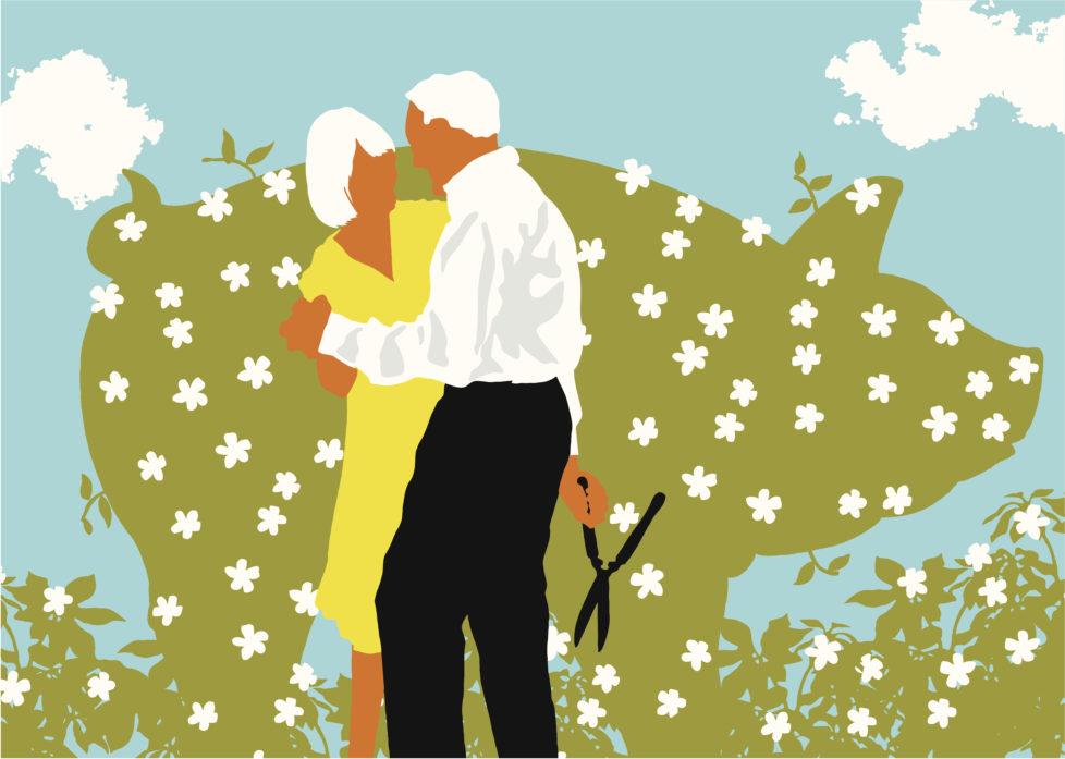 Die Ehepartnerin oder der -partner müssen einem Kapitalbezug zustimmen. Foto: Getty Images