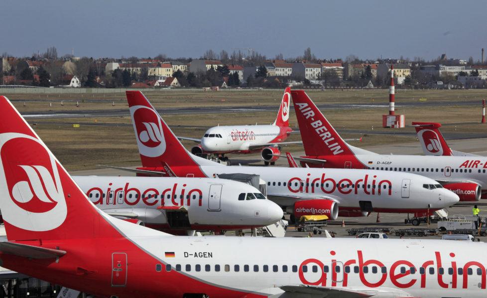 Aktien zum Schnäppchenpreis: Die Air Berlin steht vor einem Schuldenberg. Foto: Getty