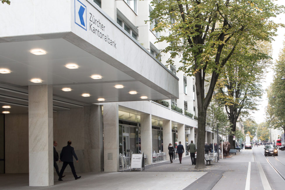 Aktive Anlagen: Banken wie die ZKB verwalten frei werdende Säule-3a-Gelder. Foto: Giorgia Müller