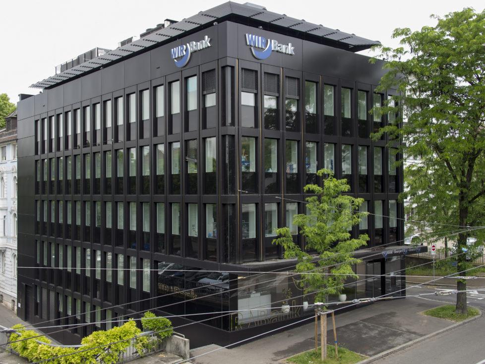 WIR-Bank in Basel: Liegt gut im Zinsvergleich. Foto: Key