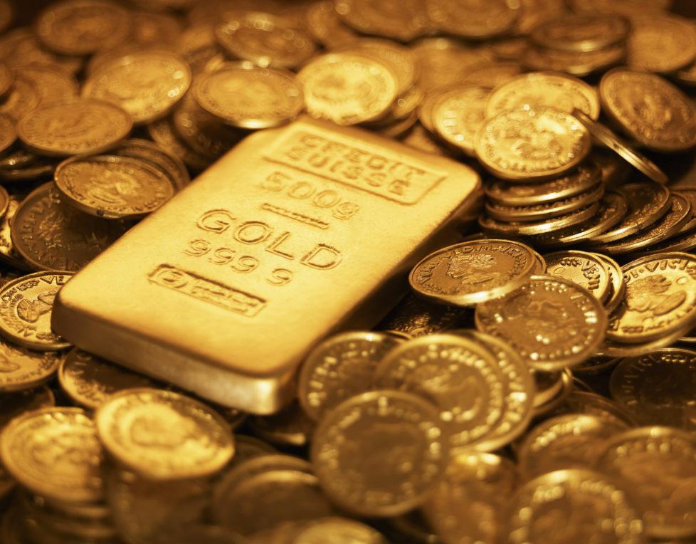 Rettungsanker: Bei Verunsicherung an den Märkten gewinnt Gold an Bedeutung. Foto Getty