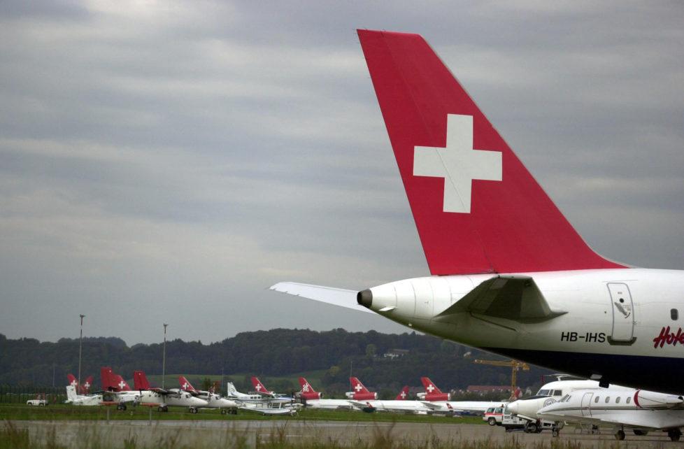 Tiefer Fall: Anleger haben nach dem Zusammenbruch der Swissair viel Geld verloren. Foto: PD