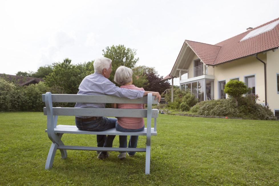 Immobilienrente: Setzen Sie das im eigenen Haus gebundene Kapital frei. Foto: Getty