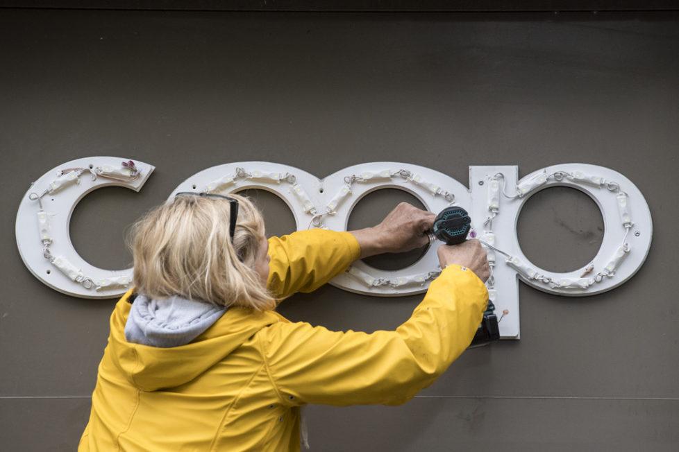 Coop ist als Genossenschaft finanziell solid aufgestellt und auch operativ sehr erfolgreich tätig. Foto: Ennio Leanza (Keystone)