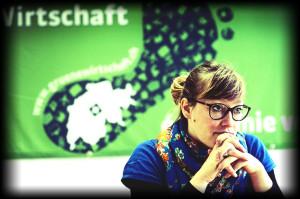 Aline Trede, Nationalraetin Die Gruenen. © Adrian Moser