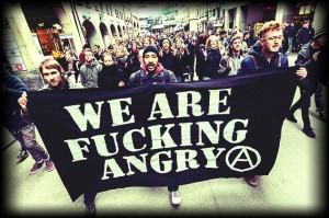 Unbewilligte Kundgebung wird nicht toleriert. Der erneute Antifa-Spaziergang-Aufruf. © Roland Juker