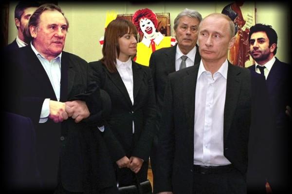 Russia Depardieu