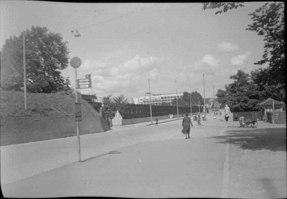 FN Jost N 1993, Lorrainebrücke, kurz vor Abbruch der Roten Brücke, 1941, Artist: