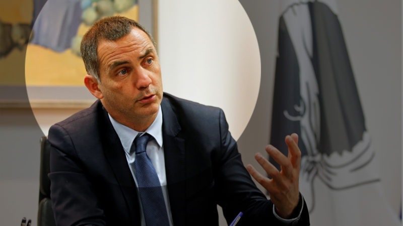 Gilles Simeoni. Foto: Jean-Paul Pelissier (Reuters)
