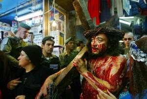 Ein Gläubiger in Jerusalem. (Keystone/Brennan Linsley)