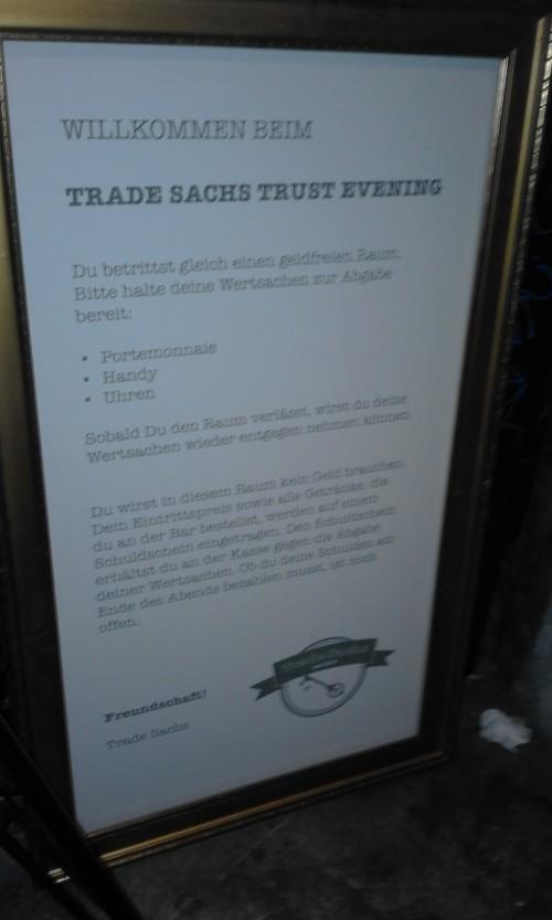 trade sachs