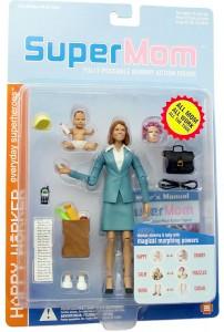 Bild der perfekten Mutter: Actionfigur SuperMom. Foto: Flickr