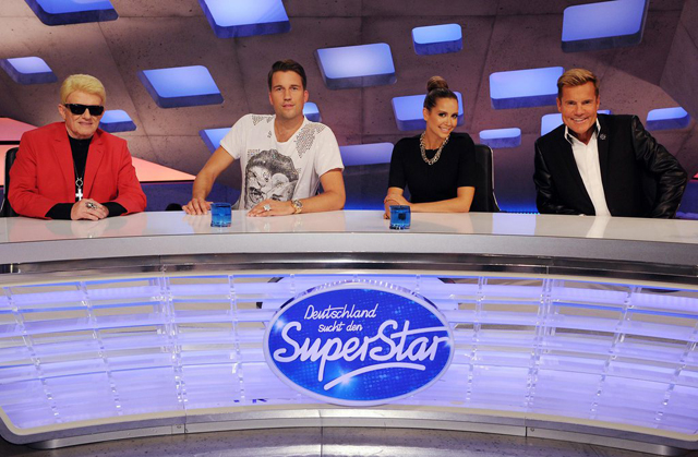 Jury of DSDS 2014 in Cologne