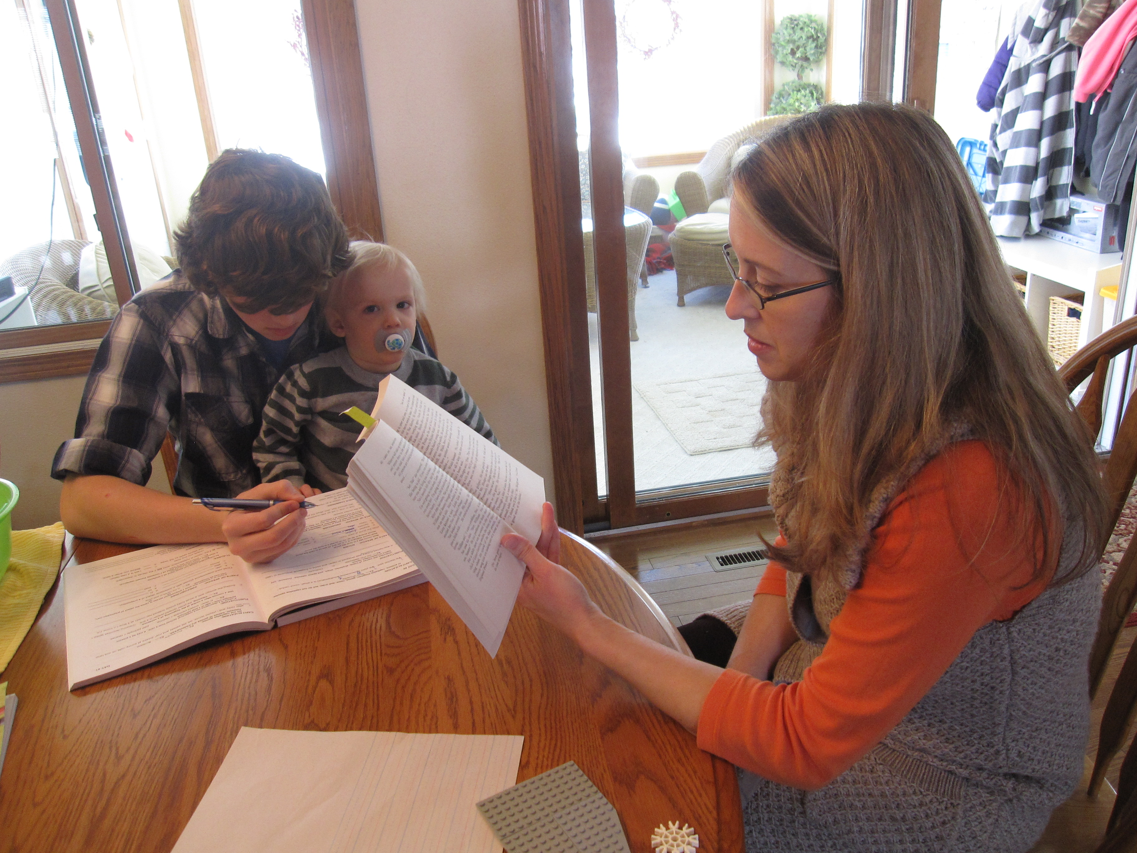 In der Familie Gustoff in Des Moines (USA) macht die Mutter die Lehrerin. Foto: IowaPolitics.com (Flickr)