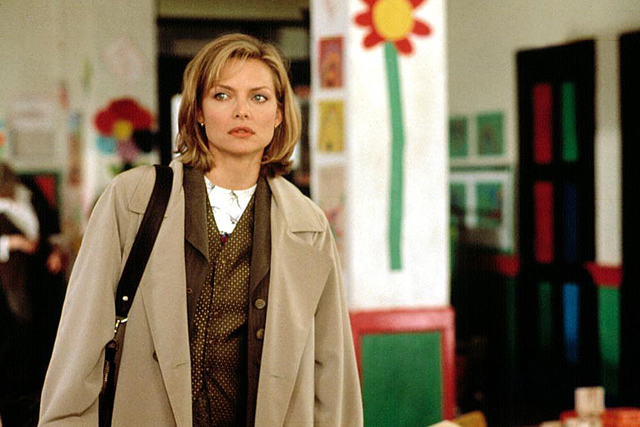 ONE FINE DAY, Michelle Pfeiffer, 1996, TM & Copyright (c) 20th Century Fox Film Corp. All rights reserved.