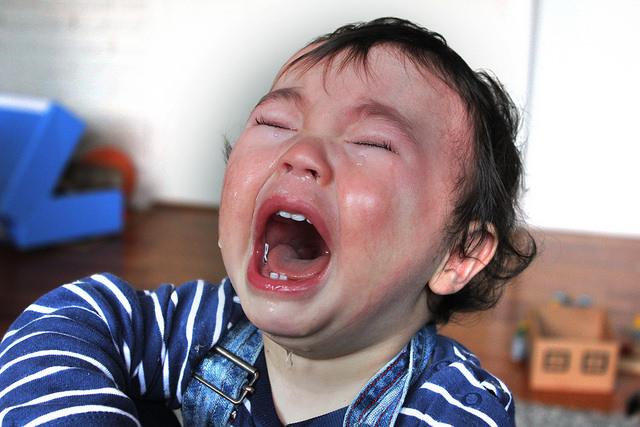 In unserer modernen liegt ein Trotzanfall eines Kindes nicht mehr drin. (Bild: Flickr/Harald Groven)
