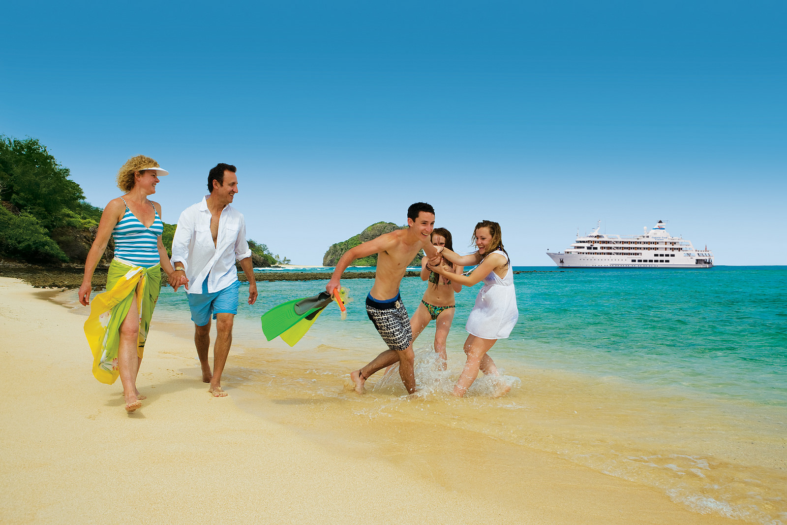 Flucht nach vorn: Zahlreiche Familien nutzen jede sich bietende Gelegenheit, um zu verreisen. Foto: Captain Cook Cruises
