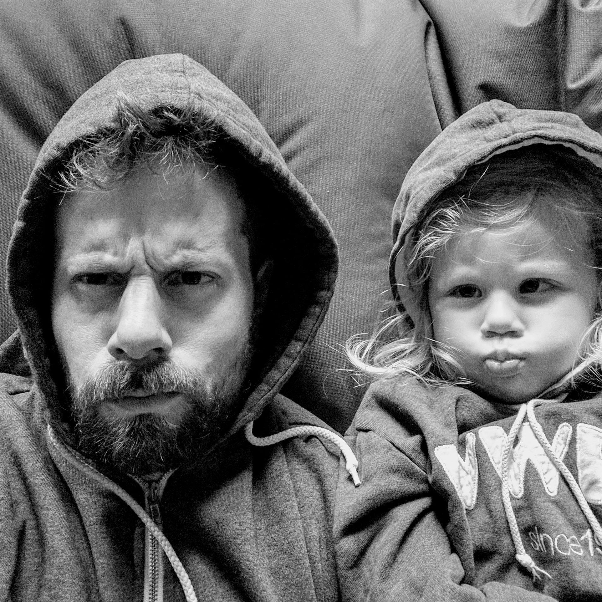Papa und Kind