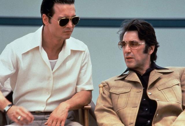 Mentor wider Erwarten: FBI-Agent Donnie Brasco (Johnny Depp) wird er zur rechten Hand des berüchtigten Mafioso Lefty Ruggiero (Al Pacino).