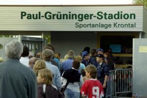 SCHWEIZ PAUL GRUENINGER STADION