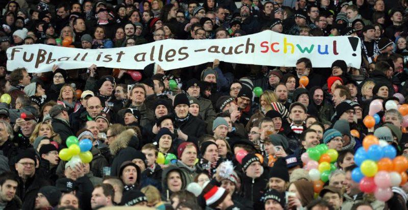 Fussball ist alles - auch schwul! (Getty Images)