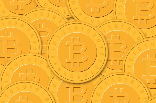 Bitcoins, conceptual artwork