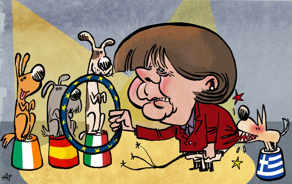 Karikatur: Kap, «La Vanguardia», Spanien (Cagle.com)